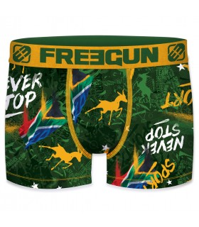 Boxer Garçon Freegun Afrique du Sud Vert