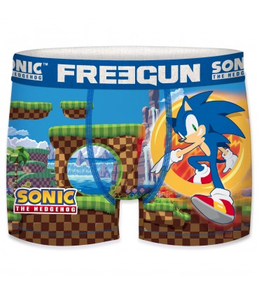 Men's Sonic Game Blue Boxer