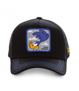 Men's Capslab Looney Tunes Beep Beep Black Cap