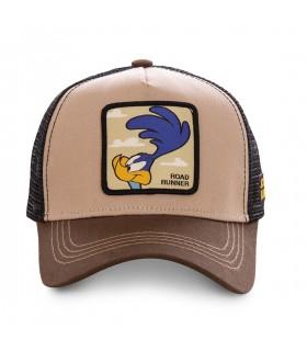 Men's Capslab Looney Tunes Beep Beep Brown Cap