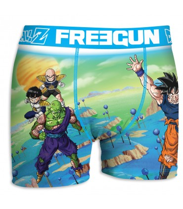 LOT DE 5 BOXER HOMME DBZ FREEGUN