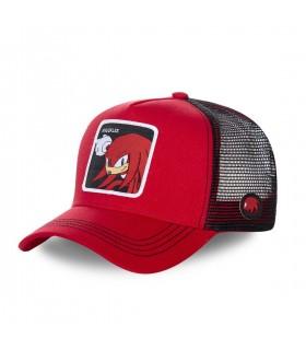 Men's Capslab Sonic Knuckles Red Cap