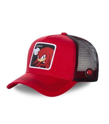 Men's Capslab Sonic Knuckles Red Cap