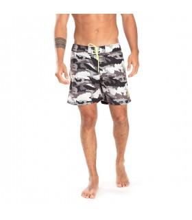 Boardshort homme Freegun Camouflage Vert