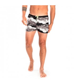Boxer de bain homme Freegun Camouflage Vert