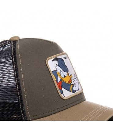 Casquette Capslab Disney Donald Marron
