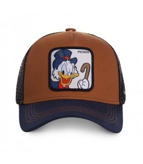 Casquette Capslab Disney Picsou Marron