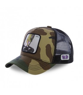 Casquette Capslab Dragon Ball Z Cell camouflage