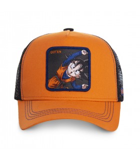 Casquette Capslab Dragon Ball Z Goten orange