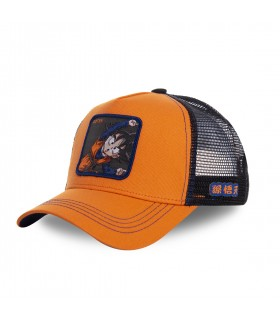Casquette Capslab Dragon Ball Z Goten orange