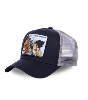 Casquette Capslab Dragon Ball Z Goku VS Vegeta noir