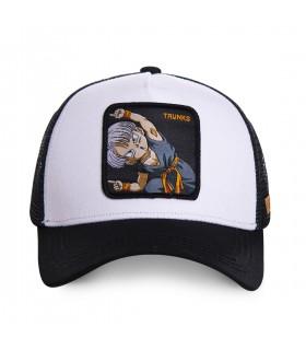 Casquette Capslab Dragon Ball Z Trunks blanc