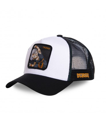 Casquette Capslab Dragon Ball Z Trunks blanc