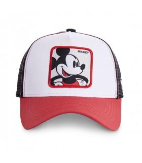 Casquette Capslab Disney Mickey blanc et rouge