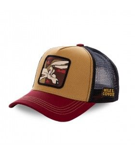 Casquette Capslab Looney Tunes Coyote Orange