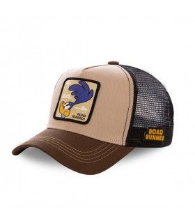 Men's Capslab Looney Tunes Beep Beep Brown Cap
