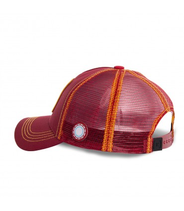 Casquette Capslab Marvel Iron Man rouge