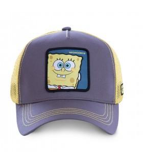 Casquette Capslab SpongeBob noir et jaune