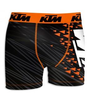 Boxer Microfibre Ktm noir et orange
