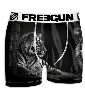 Boxer Homme Freegun Tigre Noir