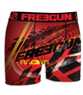 Boxer Homme Freegun Run Rouge