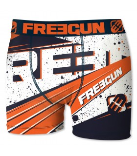 Boxer Homme Freegun Ink Orange