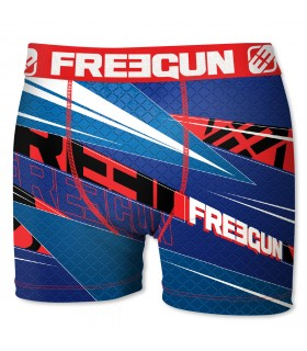 Boxer Homme Freegun Sharp Bleu
