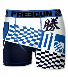Boxer homme Freegun Flag Bleu