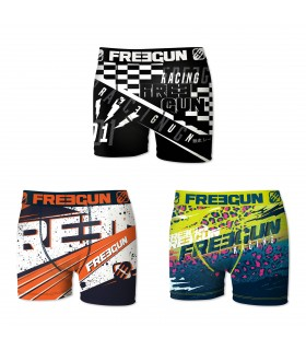 Lot de 3 boxers homme Racing
