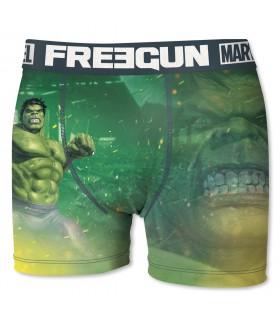 Boxer Garçon Freegun Marvel Hulk Vert