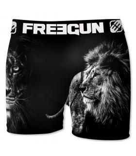 Boxer enfant Freegun Lion Noir