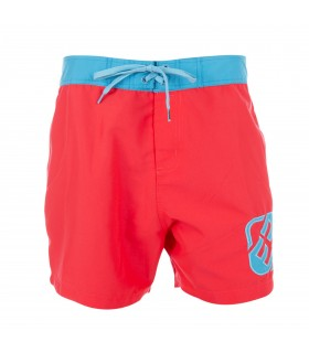 Boardshort Court Freegun Rouge Homme