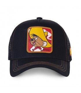 Men's Capslab Looney Tunes Speedy Gonzales Black Cap