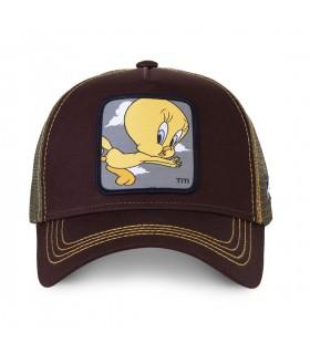 Casquette Capslab Trucker Looney Tunes Titi Noir
