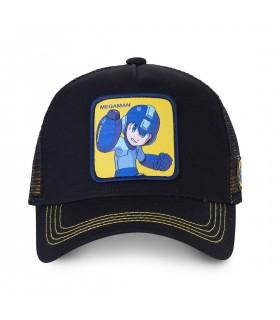 Men's Capslab Megaman X Black Cap