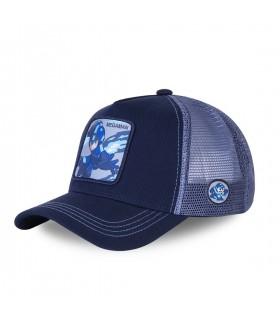 Casquette Capslab Trucker Megaman X Bleu