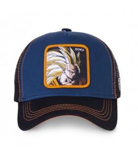 Men's Capslab Dragon Ball Z Sangoku Super Saiyan Blue Trucker Cap