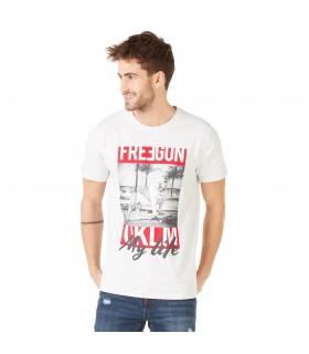 T-shirt Freegun homme OKLM