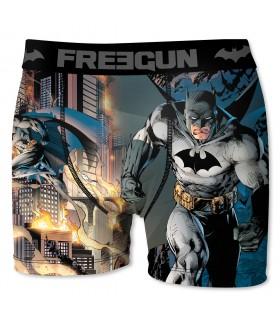 Boxer Homme Freegun DC Comics Batman Gris