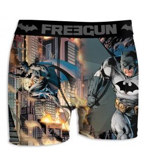 Boxer Garçon Freegun DC Comics Batman Gris