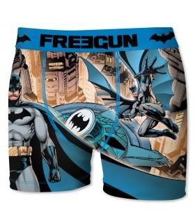 Boxer Garçon Freegun DC Comics Fly bleu