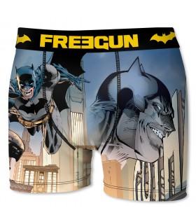 Boxer garçon DC Comics Batman Building Gris