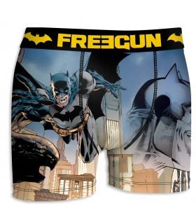Boxer Garçon Freegun DC Comics Building Gris