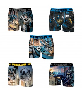 Lot de 5 boxers Homme Freegun DC Comics Multicolore