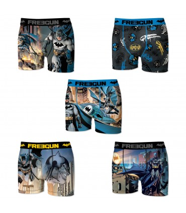 Pack of 5 men's DC Comics Batman Boxers