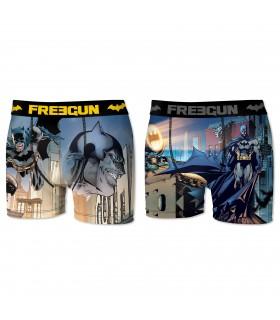 Lot de 2 Boxers Freegun homme DC Comics Batman