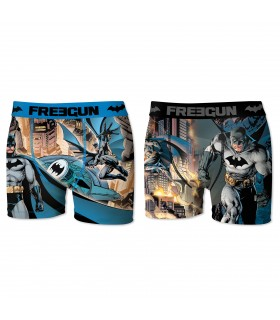 Lot de 2 boxers Homme Freegun DC Comics Multicolore