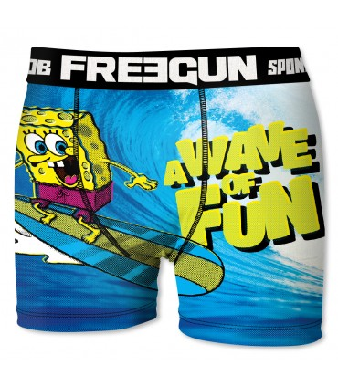 Boxer Homme Bob l'Eponge VAGUE FREEGUN