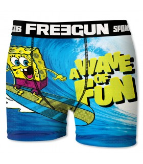 Boy's Spongebob Wave Boxer