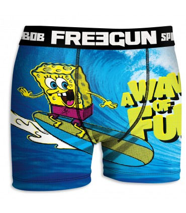 Boxer Garçon Bob l'Eponge VAGUE FREEGUN